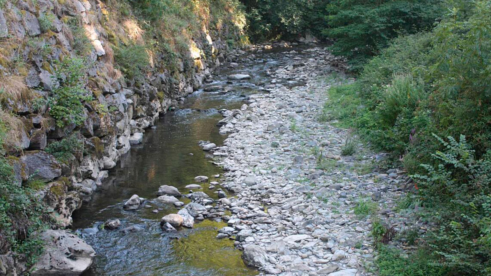 Depósitos cuaternarios río Urola