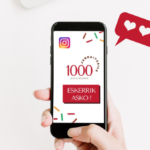 1000 seguidores en instagram